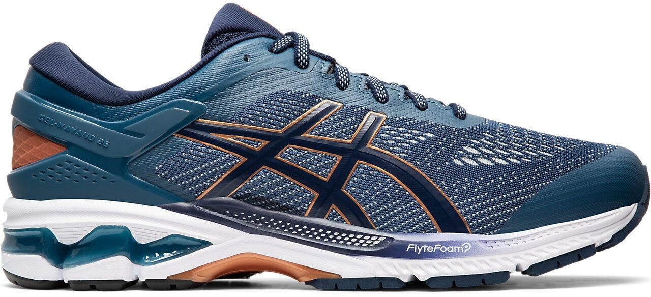 asics Gel-Kayano 26 Zapatillas Hombre, grand shark/peacoat